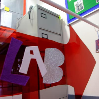 the lab by BREAD art