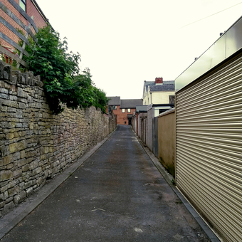 my blackburn alleyways by BREAD art