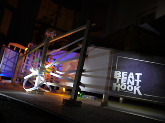 BEAT:TENT:HOOK by BREAD art