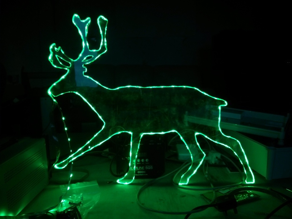 reindeer by BREAD art